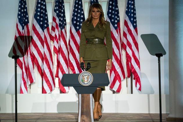 Le discours très réussi de Melania Trump (détail)