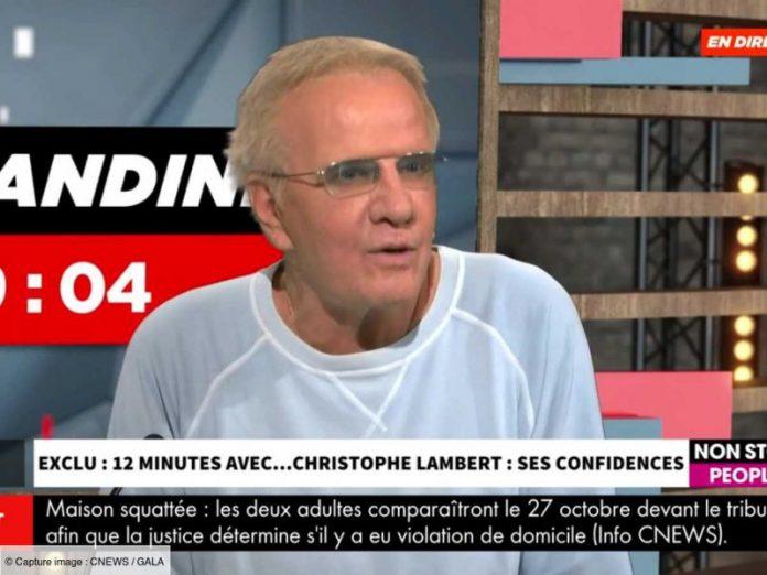 Christophe Lambert viré de son hôtel, il s'explique (détail)