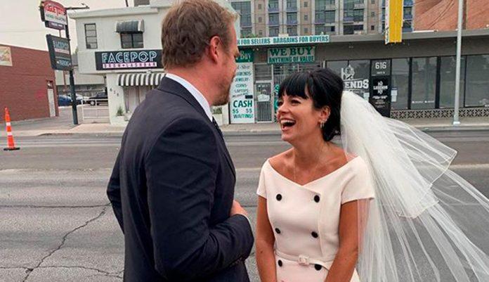 Lily Allen et David Harbour se sont mariés à Las Vegas (détail)