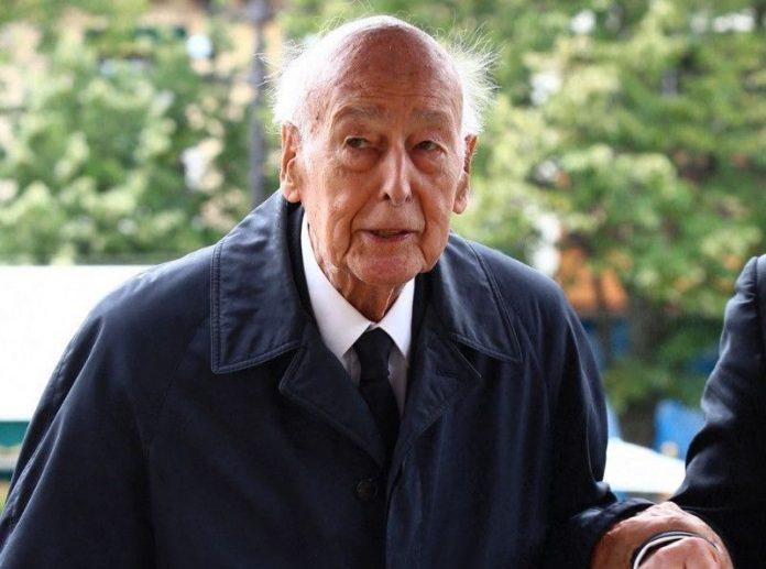 Valéry Giscard d'Estaing hospitalisé à Paris en réanimation (détail)