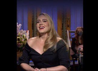 Adele : La star se moque en direct de sa perte de poids (VIDEO)