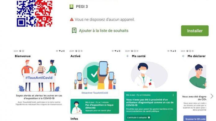 Coronavirus France en direct : Des difficultés pour télécharger Tous AntiCovid