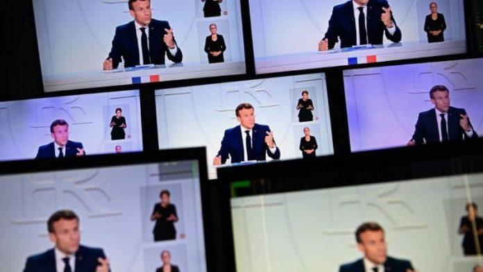 Couvre-feu : Macron incite de nouveau les entreprises à recourir au télétravail