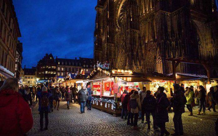Le Marché de Noël de Strasbourg 2020 annulé (détail)