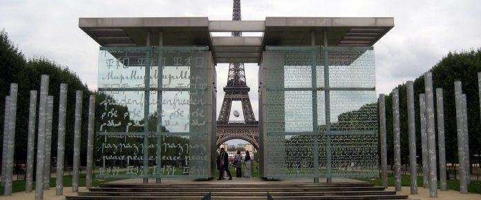 Le Mur pour la Paix déplacé dans le 15ème arrondissement (détail)