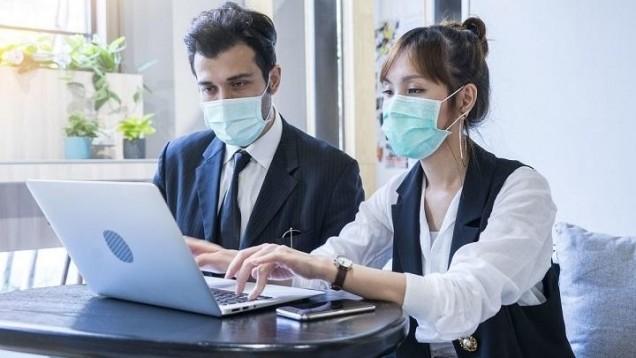 Refuser de porter un masque en entreprise est sanctionnable (détail)