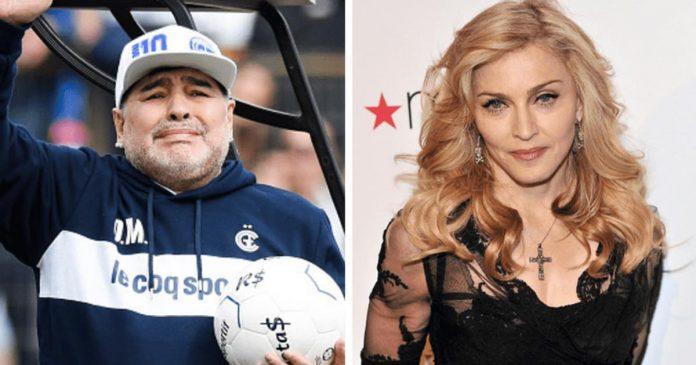 C'est Diego Maradona qui est mort hein, pas Madonna