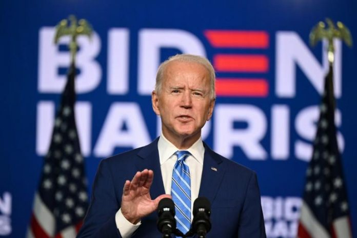 Joe Biden réagit à l'attitude de Trump: