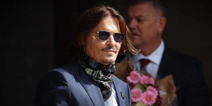 Johnny Depp perd son procès en diffamation contre «The Sun» (détail)