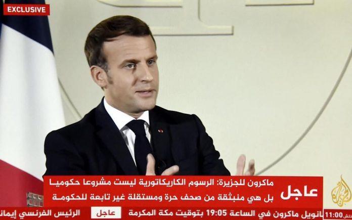 Macron : le boycott des produits français est