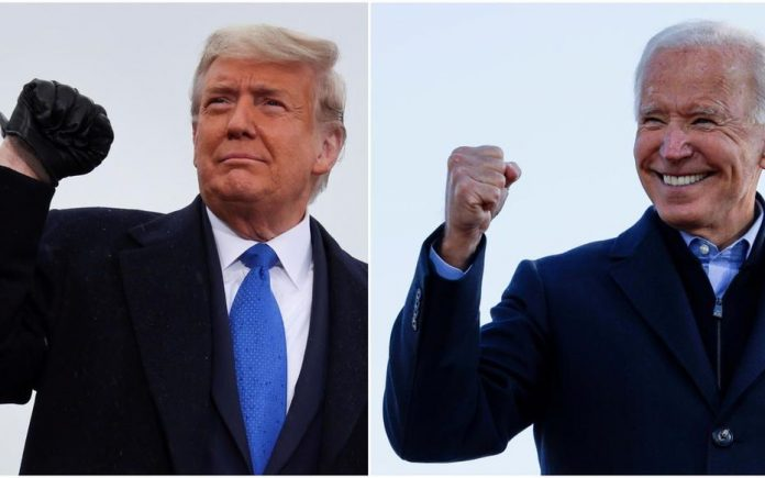 Elections américaines 2020 en direct : Cinq Etats-clés restants