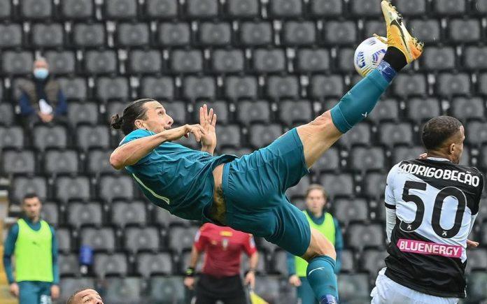 Serie A - Un retourné acrobatique de Zlatan Ibrahimovic (VIDEO)