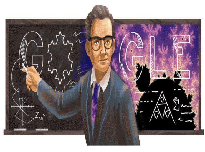 Un Google doodle pour le mathématicien Benoît Mandelbrot