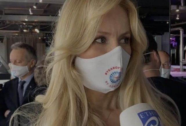 Adriana Karembeu offre des masques aux infirmières de Monaco, Beausoleil et Menton