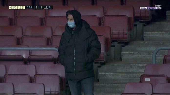 Barça : le geste de dépit de Lionel Messi après le nul (VIDEO)