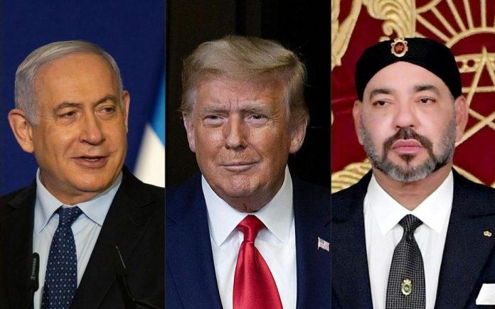 Donald Trump annonce que le Maroc reconnaît à son tour l'État d'Israël