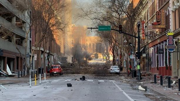 Explosion à Nashville : un scénario qui intrigue les enquêteurs (détail)