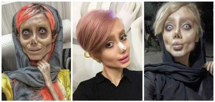 Le sosie zombie d'Angelina Jolie condamnée en Iran à 10 ans de prison (détail)