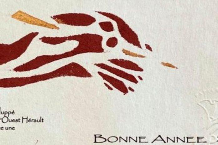 Panique à la Banque de France à cause de la carte de vœux d'un député de l'Hérault (détail)