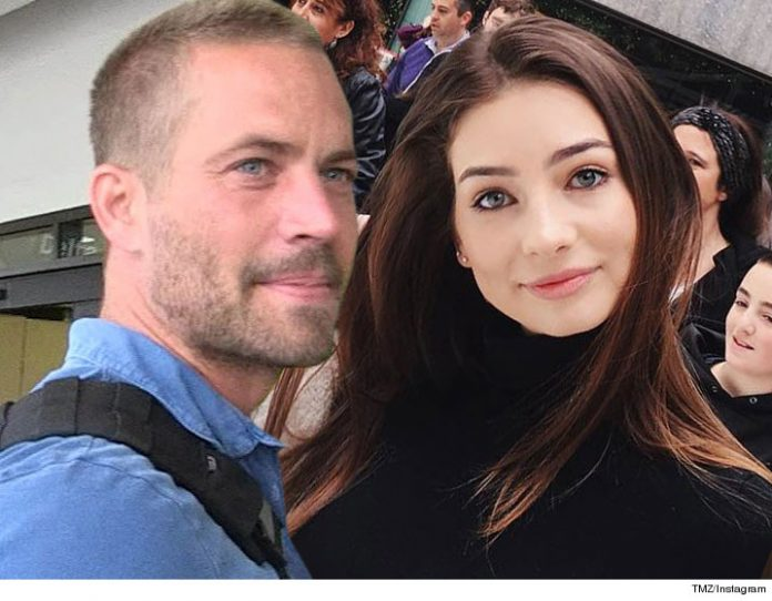 Paul Walker : l'hommage de sa fille Meadow pour l'anniversaire de sa mort (PHOTO)