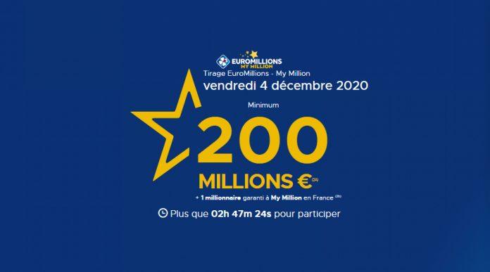 Résultat de l'Euromillions (FDJ) : Un Français décroche 200 millions d'euros après avoir joué à la loterie