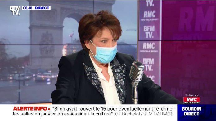 Roselyne Bachelot : le 7 janvier, une date de «revoyure» et non de «réouverture»