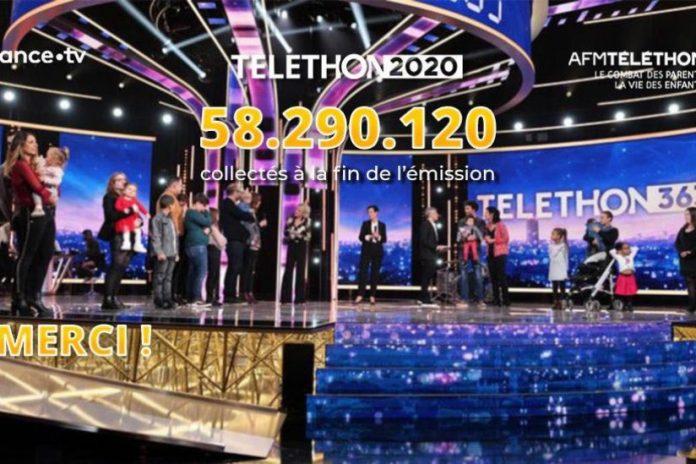 Téléthon 2020 : 58,29 millions d'euros de dons lors d'une édition confinée