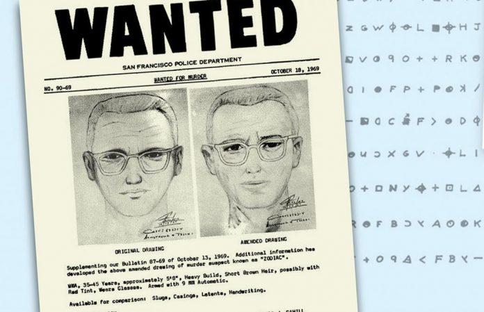 Un message codé du « Tueur du Zodiaque » déchiffré 50 ans plus tard (détail)