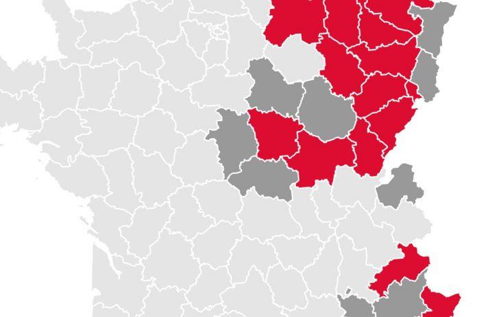 Covid-19 France : les dix nouveaux départements concernés ...
