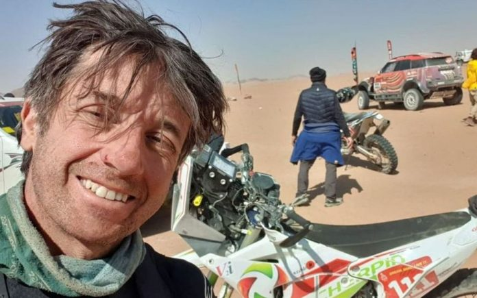 Dakar 2021 : le pilote de moto français Pierre Cherpin est mort