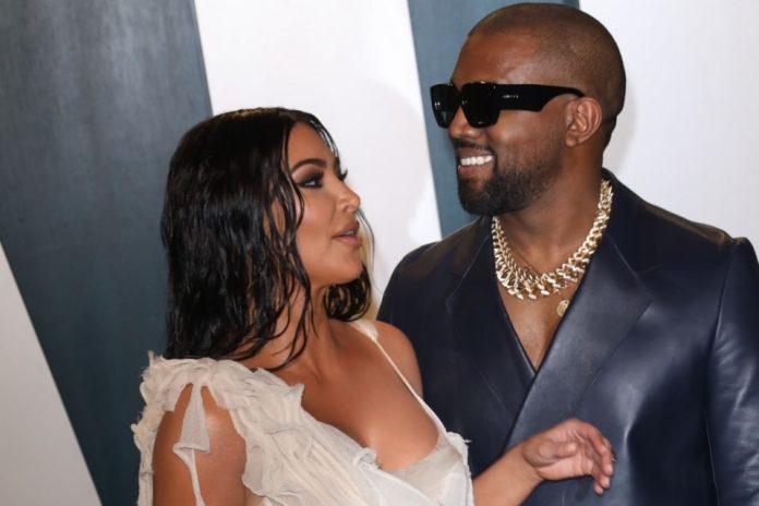 Kim Kardashian et Kanye West sur le point de divorcer (détail)