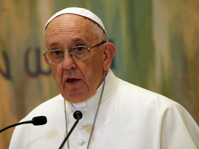 Le pape François souffre d'une