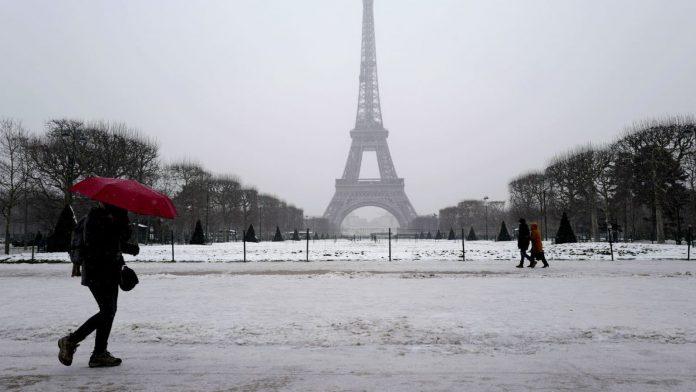 Météo France : Neige entre Lille, Amiens et Paris; 32 départements en alerte orange