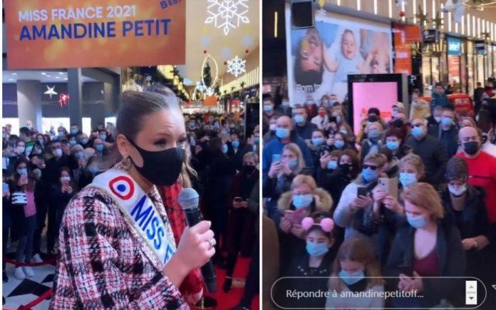 Miss France 2021 : Amandine Petit au coeur d'une vive polémique (détail)