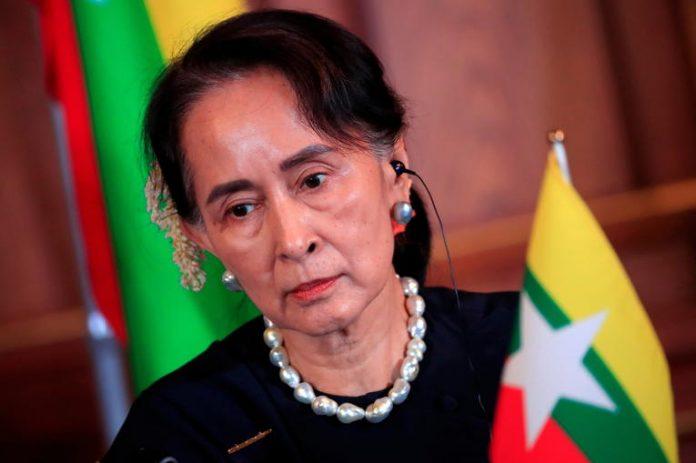 Aung San Suu Kyi arrêtée après un coup d'Etat en Birmanie (détail)