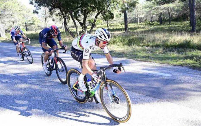 Cyclisme : grosse frayeur pour Alaphilippe au Tour de la Provence (détail)