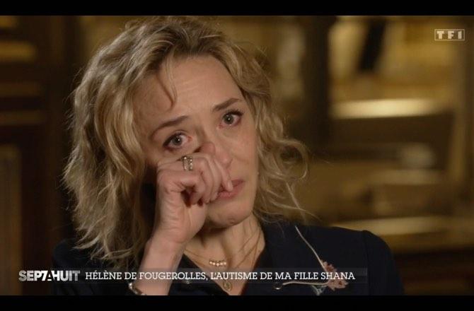 Hélène de Fougerolles : en larmes, elle se confie sur l'autisme de sa fille Shana (VIDEO)