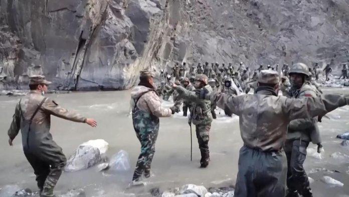La Chine diffuse une vidéo des combats meurtriers entre soldats chinois et indiens en juin 2020 (détail)