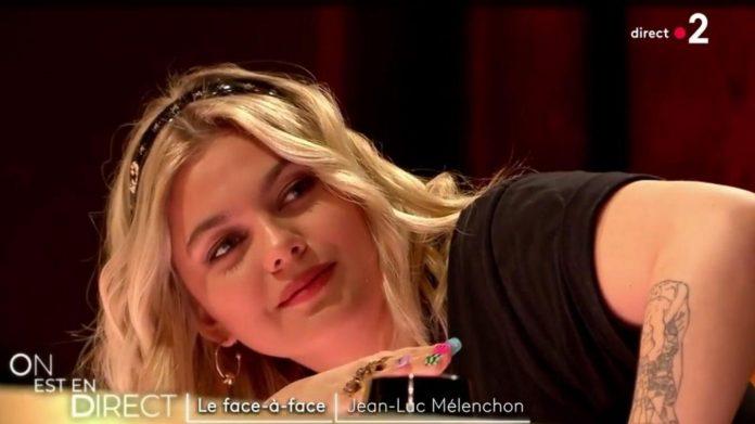 Louane rembarre froidement Laurent Ruquier : Malaise sur le plateau d'On est en direct ! (détail)
