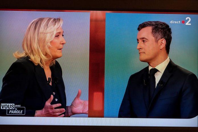 Marine Le Pen, l'idiote utile du macronisme ? (détail)