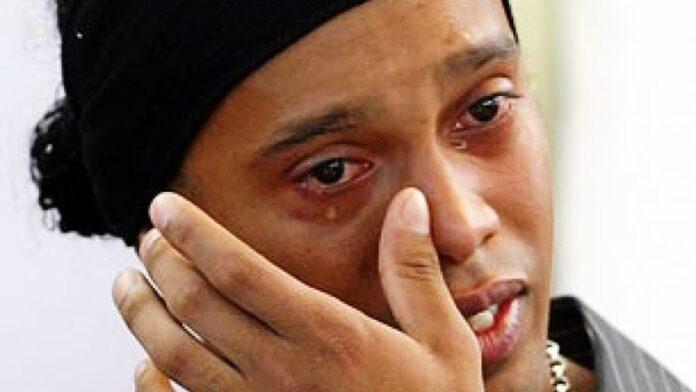 Ronaldinho, la triste nouvelle (détail)