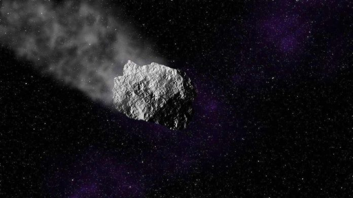 Un énorme astéroïde