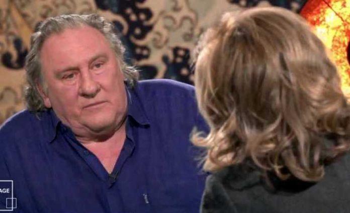 Video: Très énervé, Gérard Depardieu s'emporte violemment contre Claire Chazal