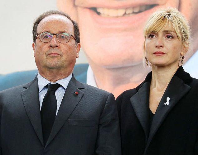 Julie Gayet lève le voile sur sa relation avec François Hollande et provoque un fou rire (détail)