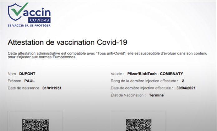 Amelie Vaccin : Télécharger son attestation de vaccination certifiée