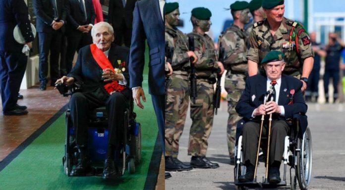Appel du 18 Juin : Emmanuel Macron aux côtés de deux illustres vétérans