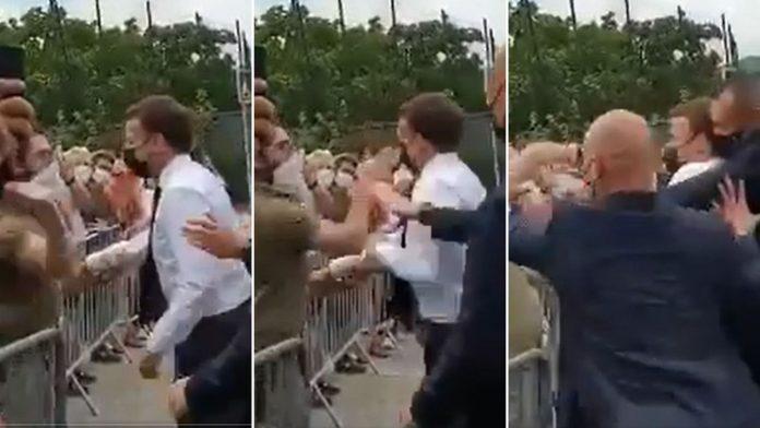 Emmanuel Macron giflé : la réaction ironique du Président de la République après son agression (Video)