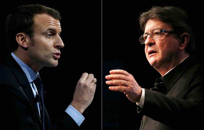 Sondage présidentielles 2022 : Emmanuel Macron progresse, Mélenchon en chute libre