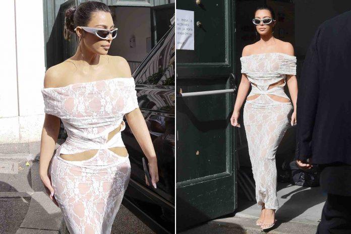 Kim Kardashian répond aux polémiques sur sa tenue pour visiter le Vatican (Photo)