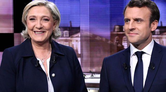 Élection présidentielle 2022 : Le Pen et Macron toujours devant et au coude-à-coude selon un sondage
